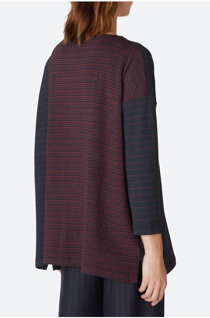 Broken Double Stripe Top