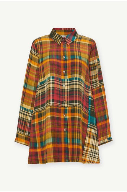 Photo of Patched Check Shirt