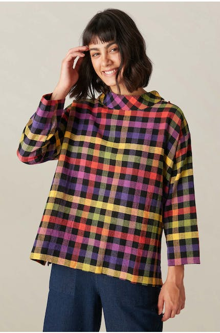 Photo of Colourful Check Top