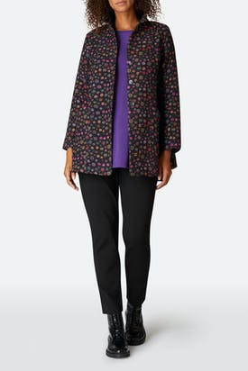 Photo of Polka Dot Jacquard Jacket