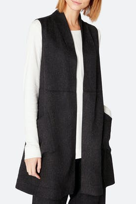 Photo of Viscose Twill Swing Gilet