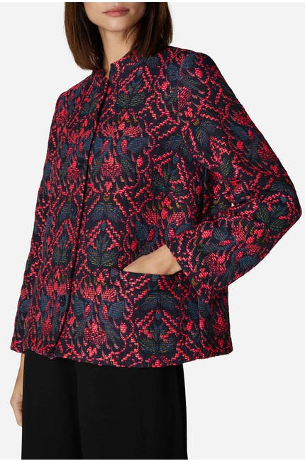 Photo of Fantail Jacquard Jacket