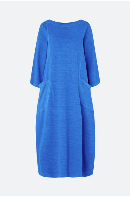Textured Hemp Jersey Dress