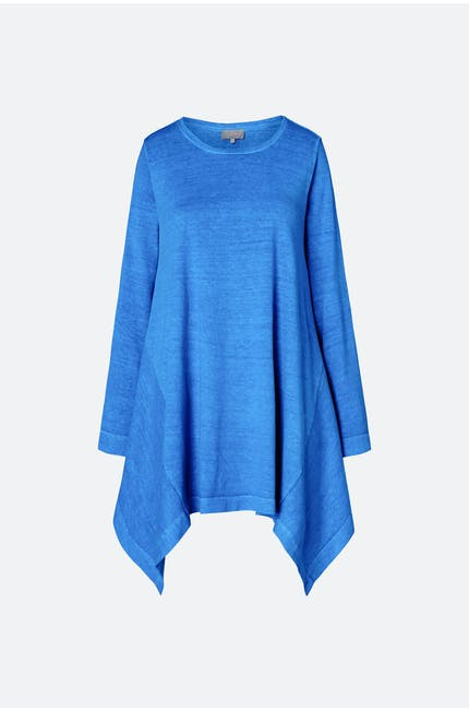 Hemp Jersey Drape Top