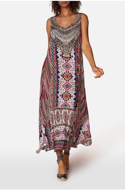 Flowing Maxi Dress