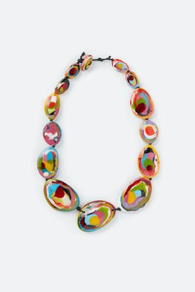 Photo of Oval Stones Necklace