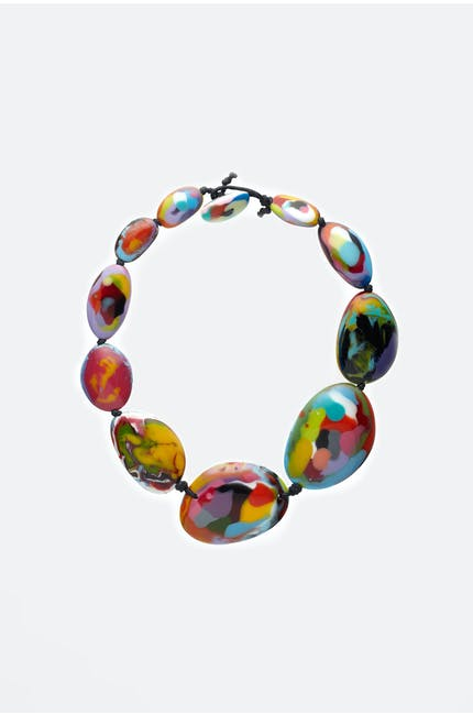 Oval Stones Necklace
