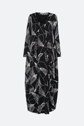 Photo of Abstract Line Jersey Dress