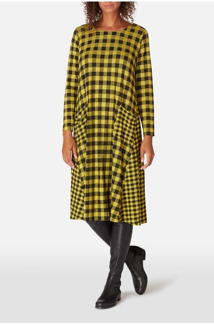 Photo of Double Check Jersey Dress
