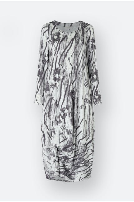 Photo of Charcoal Print Jersey Dress