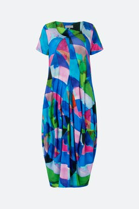 Photo of Harlequin Jersey Bubble Dress