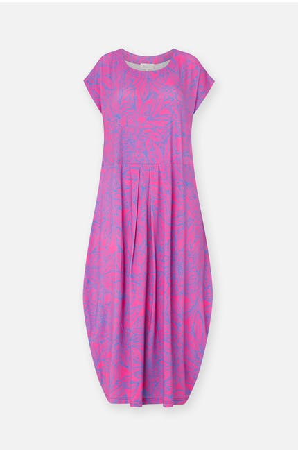 Photo of Linear Floral Jersey Dress