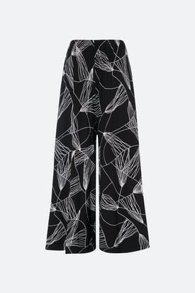 Photo of Abstract Line Jersey Trouser