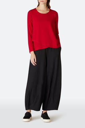 Photo of Drapey Jersey Bubble Trouser
