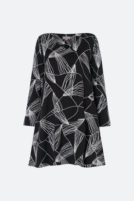 Photo of Abstract Line Jersey Tunic