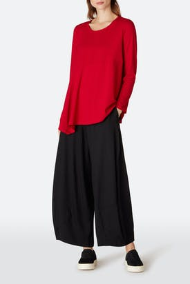 Photo of Heavy Jersey Asymmetric Top