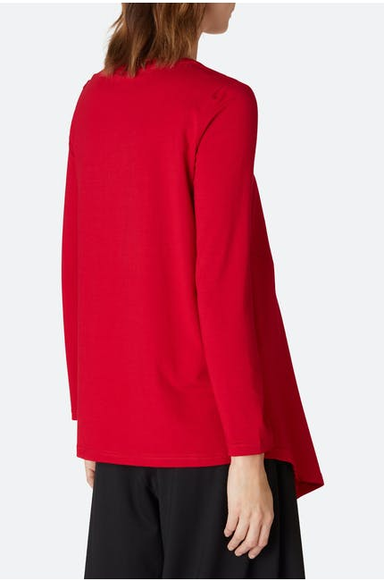 Heavy Jersey Asymmetric Top