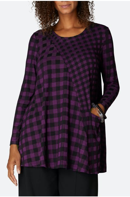 Photo of Double Check Jersey Tunic