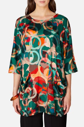 Photo of Multi Circle Print Jersey Tunic