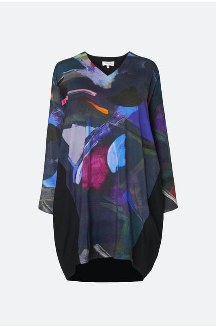 Photo of Paintbox Print Jersey Tunic