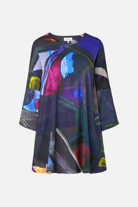 Photo of Paintbox Print Jersey Top