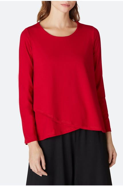 Heavy Jersey Double Layer Top