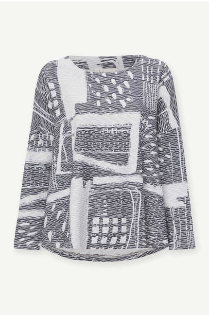 Photo of Graphic Ripple Jersey Top