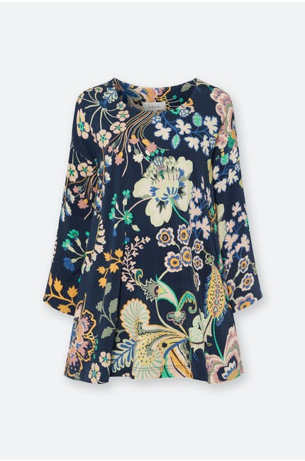 Photo of Floral Symphony Jersey Top