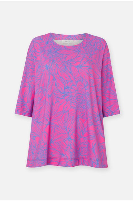 Photo of Linear Floral Jersey Top