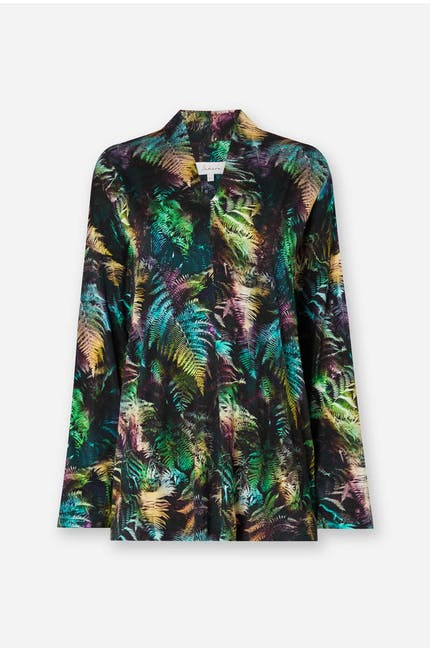 Photo of Fern Leaf Print Top