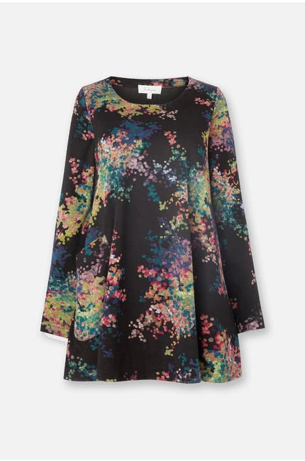Photo of Floral Spot Jersey Top