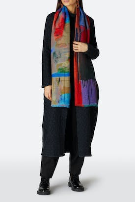 Photo of Colour Splash Scarf
