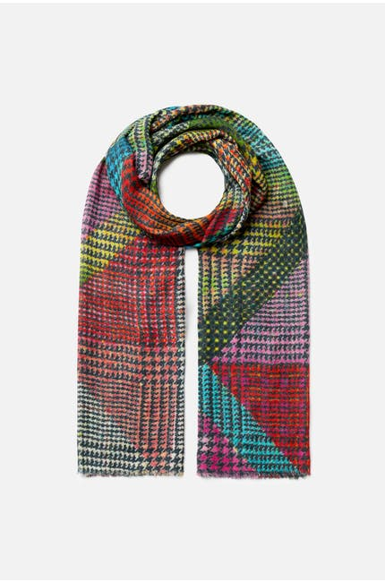 Photo of Vibrant Check Scarf