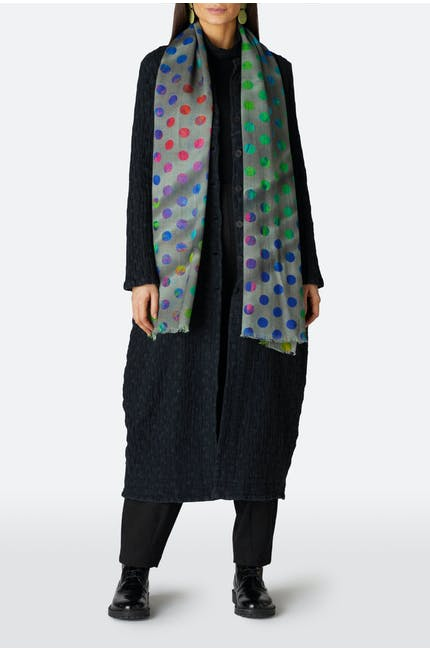 Orbiting Circles Scarf