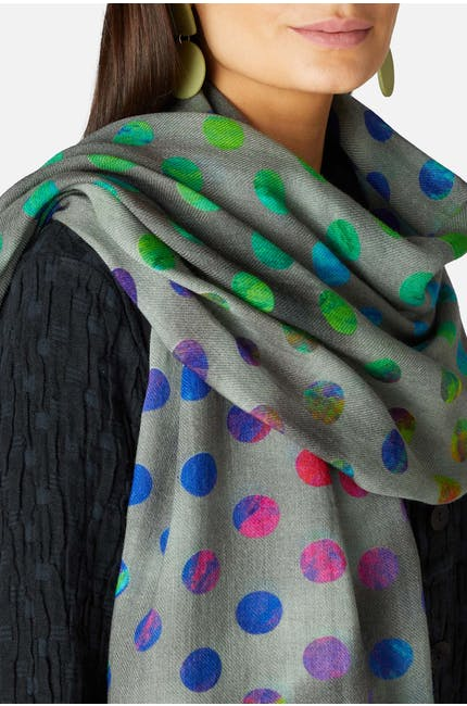 Photo of Orbiting Circles Scarf