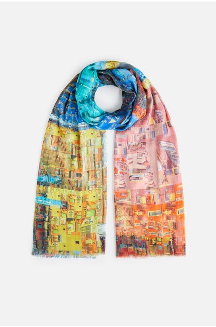 Photo of City Print Scarf