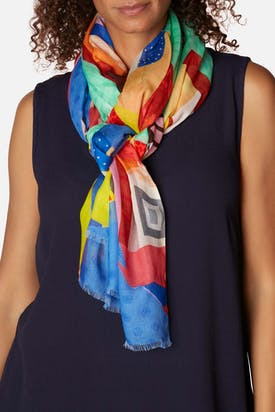 Photo of Artistic Print Scarf