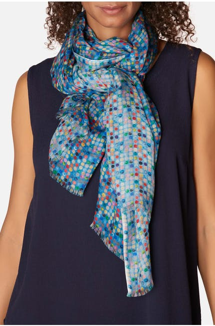 Mini Dotted Scarf