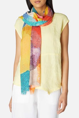 Photo of Vibrant Honeycomb Scarf
