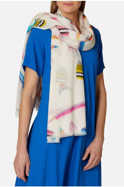 Photo of Pencil Print Scarf