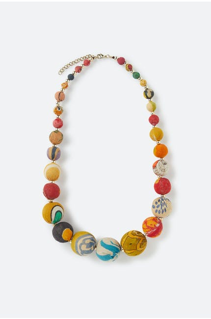 Graduated Bead Necklace