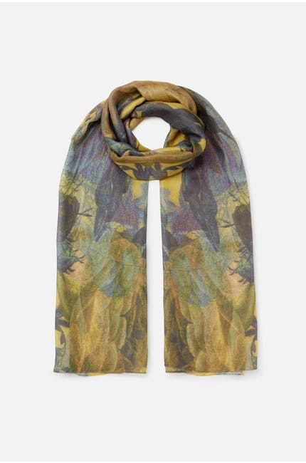 Photo of Silk Floral Scarf