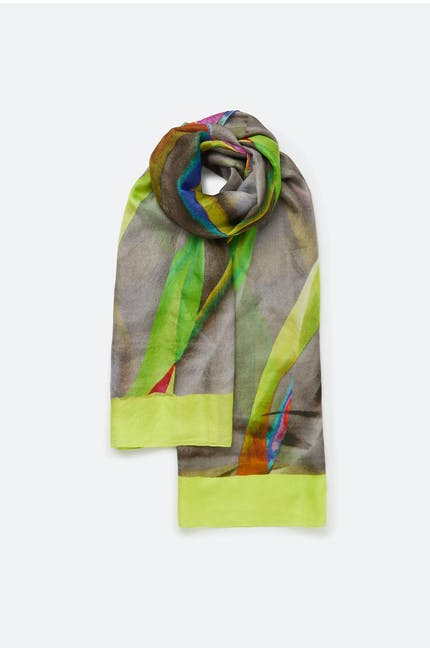 Photo of Colour Detail Silk Scarf