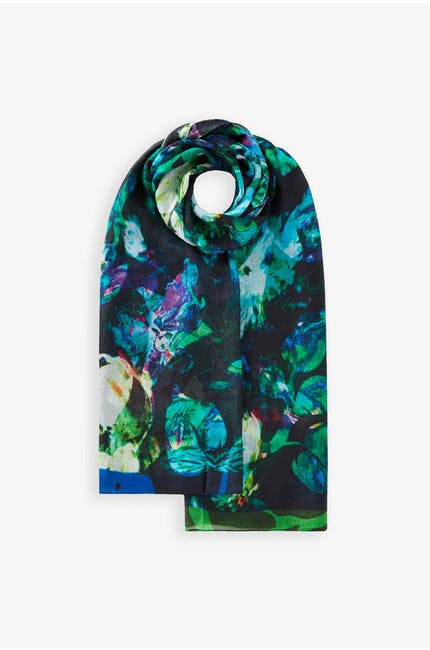 Photo of Floral Silk Scarf