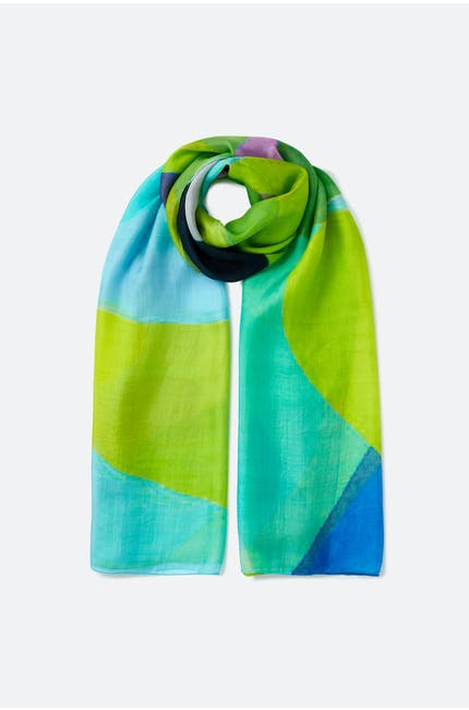 Photo of Abstract Azure Scarf