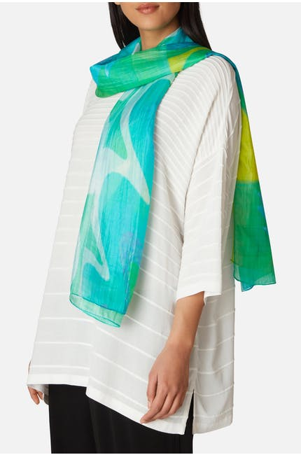 Photo of Aqua Swirl Scarf