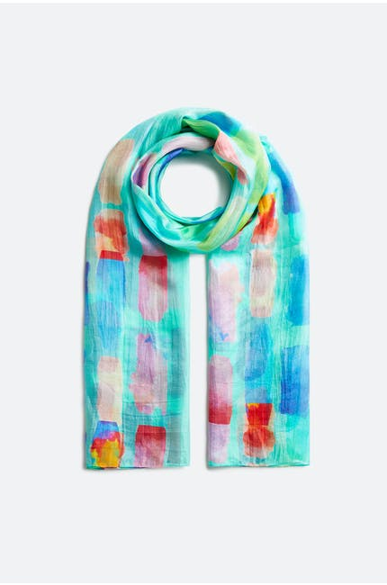 Soft Stripe Scarf