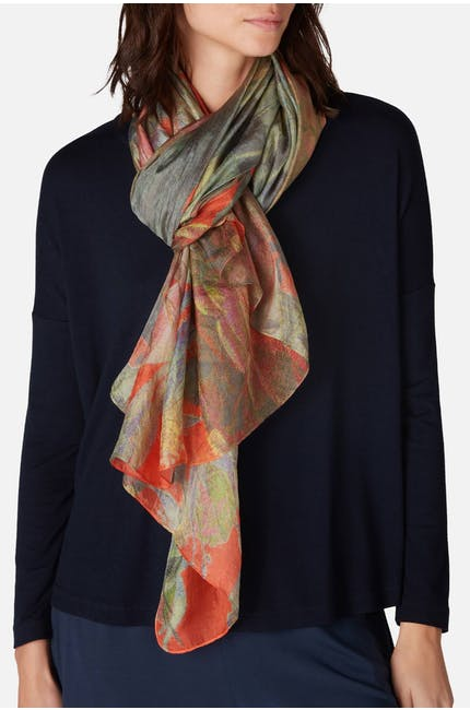 Photo of Soft Palette Silk Scarf