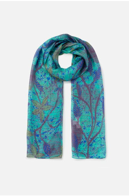 Photo of Vine Print Silk Scarf