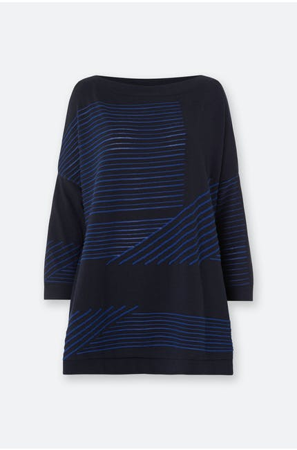 Photo of Stripe Knit Tunic